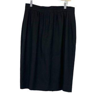 Jones New York vintage black pencil skirt